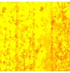 Abstract yellow polygonal background vector