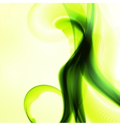 Abstract green vector