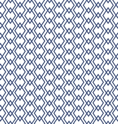 blue geometric rhombus patterns vector image vector image