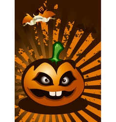 Halloween abstract background vector
