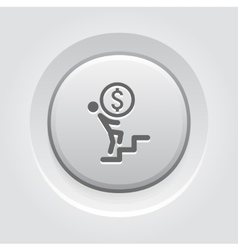 Way to success icon business concept vector