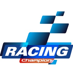 Racing champions vector