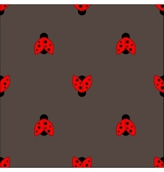 Ladybug pattern abstract texture vector