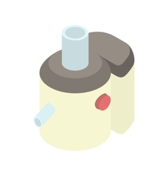 Juicer icon in cartoon style vector