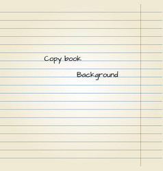 old note paper background vector image
