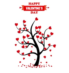 san valentine day card vector image vector image