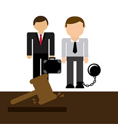 Lawyer job vector