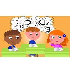 Dyslexia vector