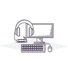 Office supplies design vector