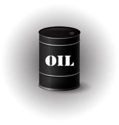 oil barrel vector image