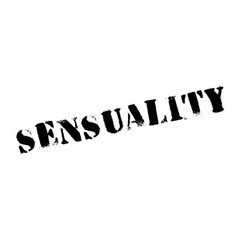 Sensuality rubber stamp vector