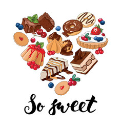 so sweet vector image vector image