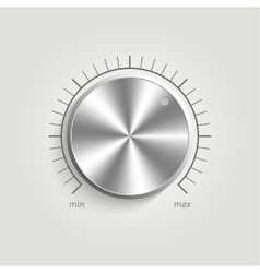 Metal volume music control vector