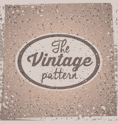 Retro and vintage background design vector