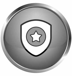 Iconic symbol security vector