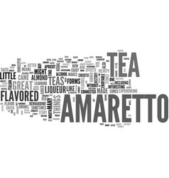 Amaranth herbal text word cloud concept vector