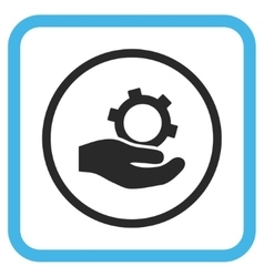 Engineering Service Icon In a Frame vector image vector image