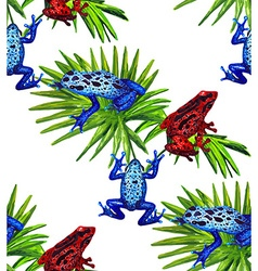 Frog pattern3 vector