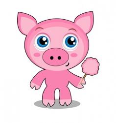 piglet vector image vector image