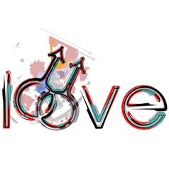 Gay love symbols vector image