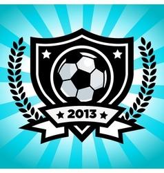 Soccer Logo Emblem vector image