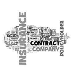 What to do when an insurance company breaches its vector