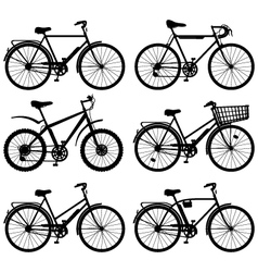 Bicycle pictogram vector