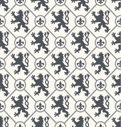 Heraldic background seamless vector