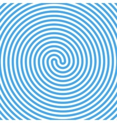 Blue Water Whirlpool Abstract Spiral Background vector image vector image