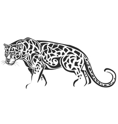 leopard vector image vector image