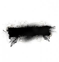 splatter banner vector image vector image