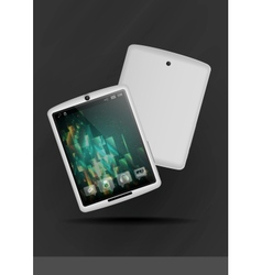 Tablet pc  mobile phone vector