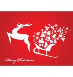 Christmas design vector image vector image