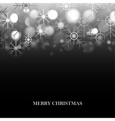 Holiday winter background vector image vector image