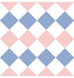 Rose quartz serenity white diamond background vector
