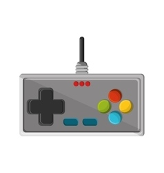 Isolated videogame control design vector