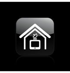 antenna icon vector image vector image