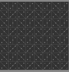 seamless lines in form of angle squares dark vector image