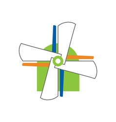 Windmill-Concept-380x400 vector image