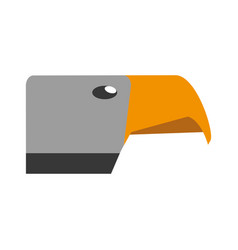 Hawk icon image vector