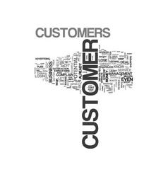 What to do when customers complain text word vector