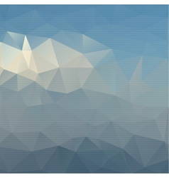 Abstract background with colored triangles vector