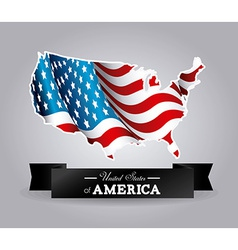 USA design vector image