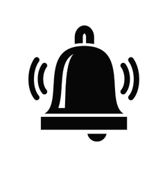 Bell Icon vector image vector image