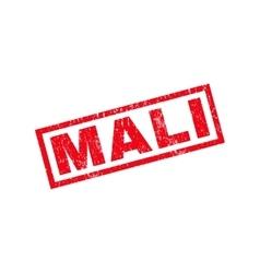 Mali rubber stamp vector
