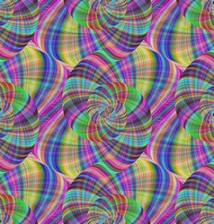 Seamless colorful psychedelic fractal background vector