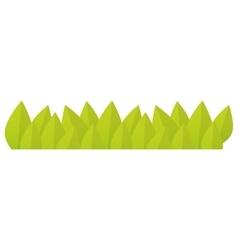 Green grass icon vector
