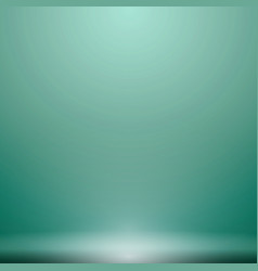 Abstract luxury green gradient with lighting vector