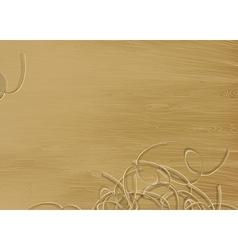 pine wood texture vector image vector image
