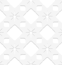 White stars seamless vector image vector image